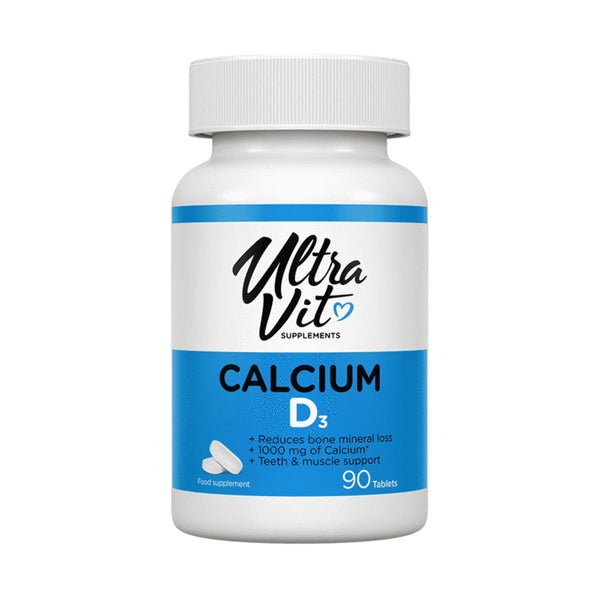 Calcium + Vitamin D3 - 90 Tablets