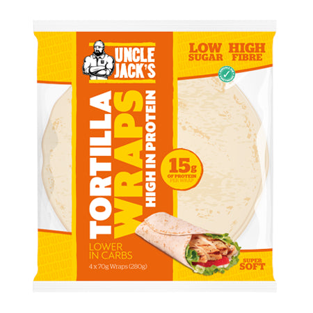 Uncle Jack's Tortilla Wraps (high protein)