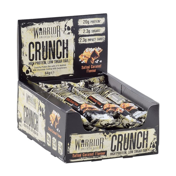 Warrior Crunch Bar (box of salted caramel)