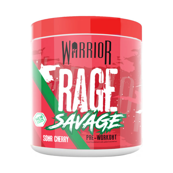 Warrior Rage Savage Pre Workout - 330g