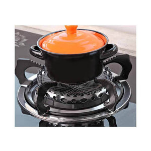 Stove Windproof Net Stainless Steel Gas Cooker Stove Torch Net Energy Saving
