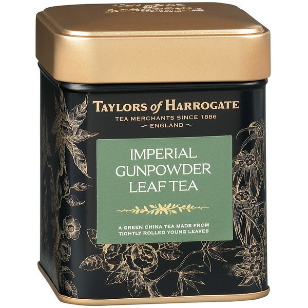 Taylors Imperial Gunpowder Leaf Tea Caddy 125G