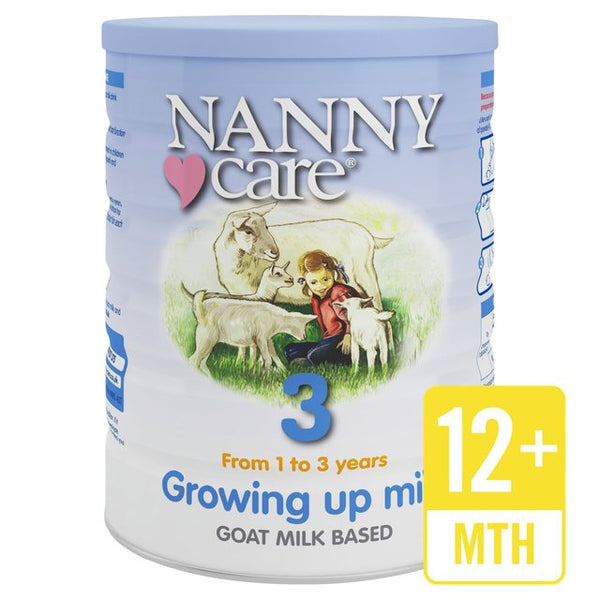 Nanny Care Growing Up Milk 1-3 Years Goat Milk Based 900g