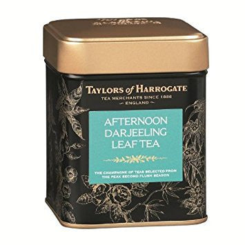 Taylors Afternoon Darjeeling Leaf Tea Caddy 125G