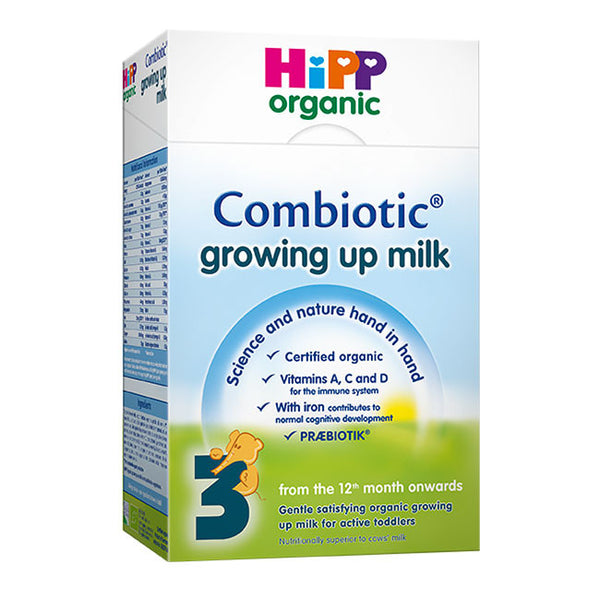 Hipp Organic 12 Month Growing Up Milk 600G