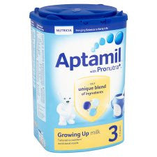 Aptamil 3 Growing Up Milk Powder 1+ Years 900G