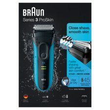 Braun 3040S Wet And Dry Foil Electric Shaver