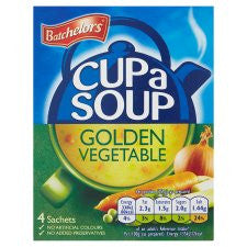 Batchelors Cup A Soup Golden Vegetable 82G