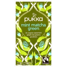 Pukka Organic Fair Trade Cool Mint 20 Tea Bags 30G