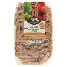 Cook Italian Bronze Whole Wheat Penne Pasta 500G