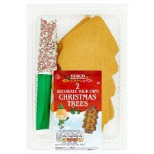 Decorate Your Own Christmas Tree Gingerbread 2 Pack