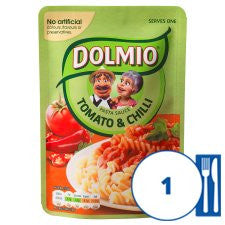 Dolmio Express Italian Chilli Sauce 170G Pouch