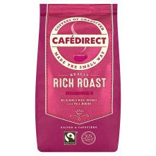 Cafedirect Rich Fair Trade Ground Coffee 227G