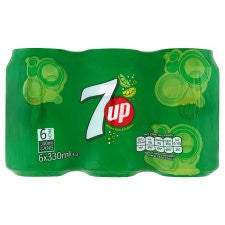 7Up Regular 6 X 330 Ml Pack