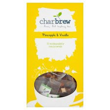 Charbrew Pineapple&Vanilla Tea Bags 15'S 30g