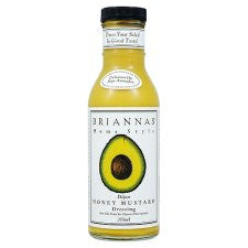 Briannas Honey Mustard Dressing 355Ml