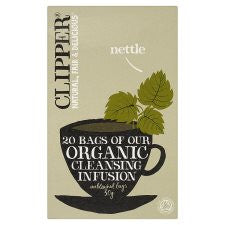 Clipper Organic Nettle Tea Bags 20S 30G