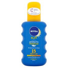 Nivea Moisturising Sun Spray Spf 15 200Ml
