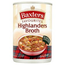 Baxters Favourite Highlander Broth Soup 400G
