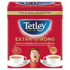 Tetley Extra Strong Tea Bags 150'S 474g