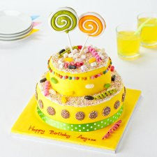 Easy Entertaining Sweetie Surprise Cake