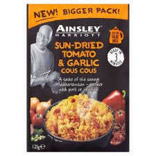 Ainsley Harriot Couscous Tomato And Garlic 125G