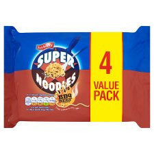 Batchelors Super Noodles Bbq Flavour 4 Pack 400G