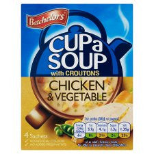 Batchelors Cup A Soup Special Powder Creamy Chicken And Vegetable 110G