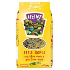 Heinz Turtles Dry Pasta Shapes 360G