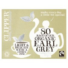 Clipper Tea Organic Earl Grey 80'S 200G