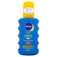 Nivea Moisturising Sun Spray F50+ 200Ml