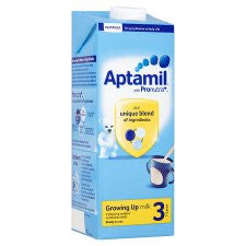 Aptamil 3 Growing Up Milk 1+ Years 1 Litre Ready To Feed