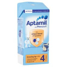 Aptamil 4 Growing Up Milk 2+ Years 200Ml Ready To Feed