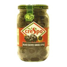 Crespo Black Olives Greek Style 250G