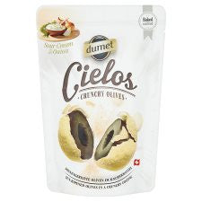 Cielos Crunchy Olives Sour Cream And Onion 60G