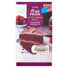 Tesco Gluten And Dairy Free Chocolate Sponge 350G