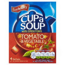 Batchelors Cup A Soup Special Powder Cream Tomato And Vegetable 4S 109G