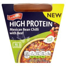 Batchelors High Protect Mexican Chilli With Beef 270G