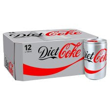 Diet Coke 12 X 150Ml