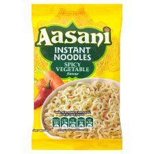 Aasani Instant Spicy Vegetable Noodles 80G