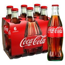 Coca Cola Regular Contour 6 X 330Ml Bottle