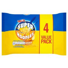 Batchelors Super Noodles Chicken Flavour 4 Pack 400G