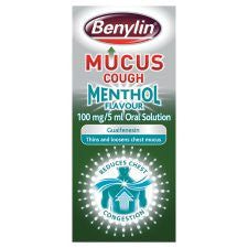 Benylin Mucus Menthol Cough 150Ml