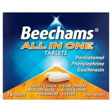 Beechams All In One Tablets 16S