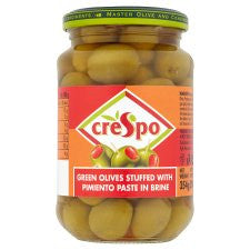 Crespo Olives Stuffed With Pimiento 357G