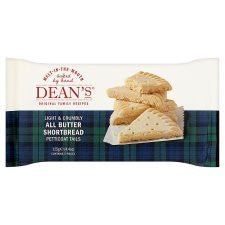 Deans All Butter Petticoat Tails 125G