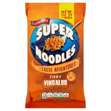 Batchelors Super Noodles Fiery Vindaloo 100G