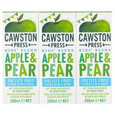 Cawston Press Kids Apple And Pear 3X200ml