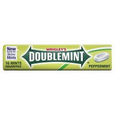 Doublemint Roll Pack Sugarfree Peppermint Mints