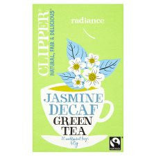 Clipper Green Decaffeinated Tea With Jasmine 20'S 40g